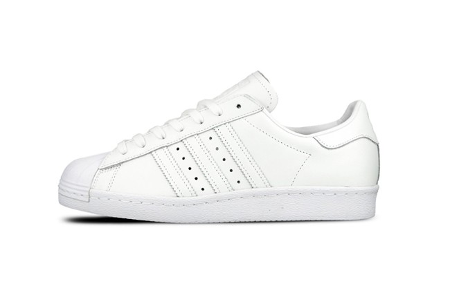 ADIDAS SUPERSTAR 80's <White/White-White>
