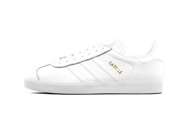 ADIDAS ORIGINALS GAZELLE <White/White-White>