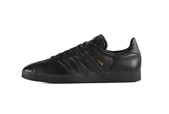 ADIDAS ORIGINALS GAZELLE <Black/Black-Black>