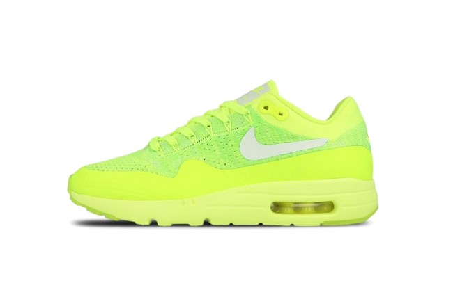 NIKE AM 1 ULTRA FLYKNIT  <Volt/White-Electric Green>