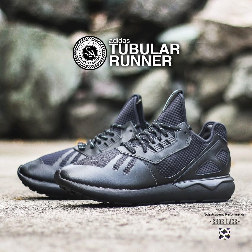 adidas TUBULAR RUNNER 'TRIPLE BLACK'