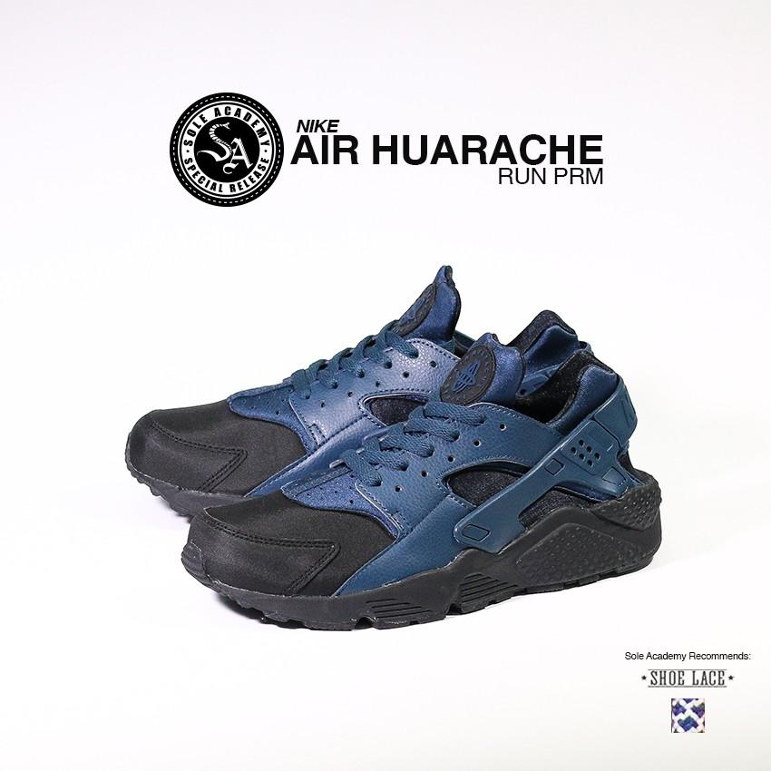 """NIKE AIR HUARACHE RUN PRM """"Blk/Sqdrn Blue"""""""
