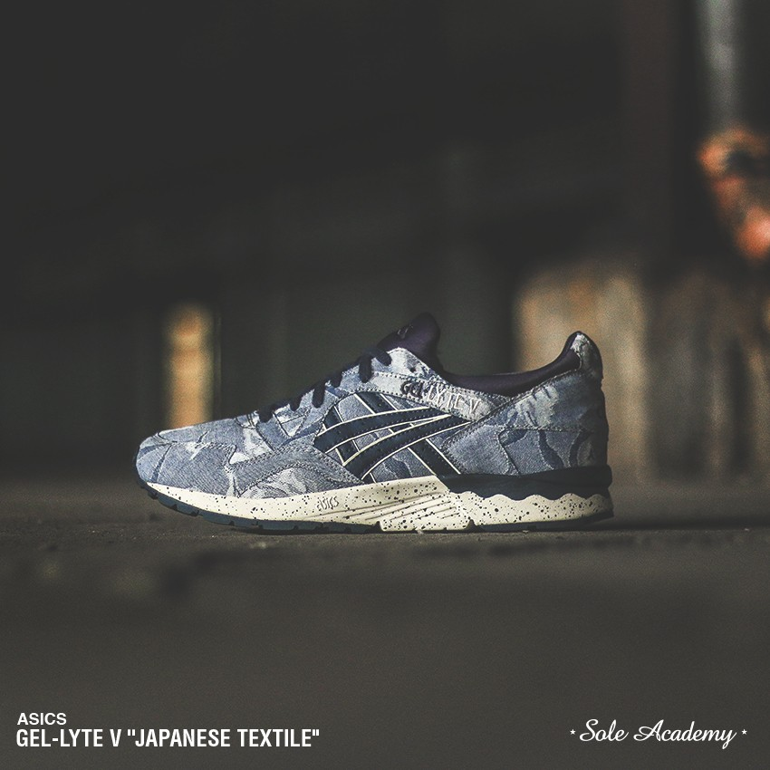 "ASICS GEL-LYTE V ""Made of Japan Polka Dot <BLUE/GREY-BLACK>"