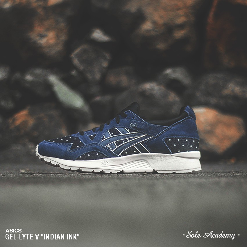 "ASICS GEL-LYTE V ""Made of Japan"" <BLACK-NAVY/WHITE>"